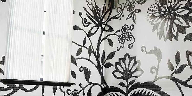 TREE a modern floral mosaic design