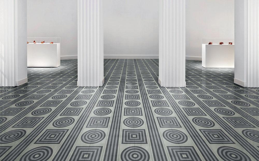 VENT Grey Bisazza Cementiles Flooring