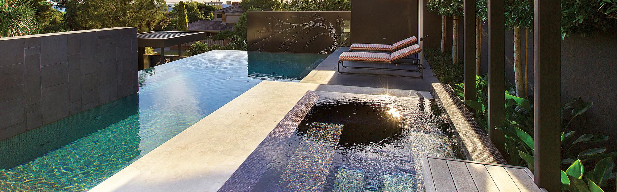 Bisazza Pool Mosaic Tiles