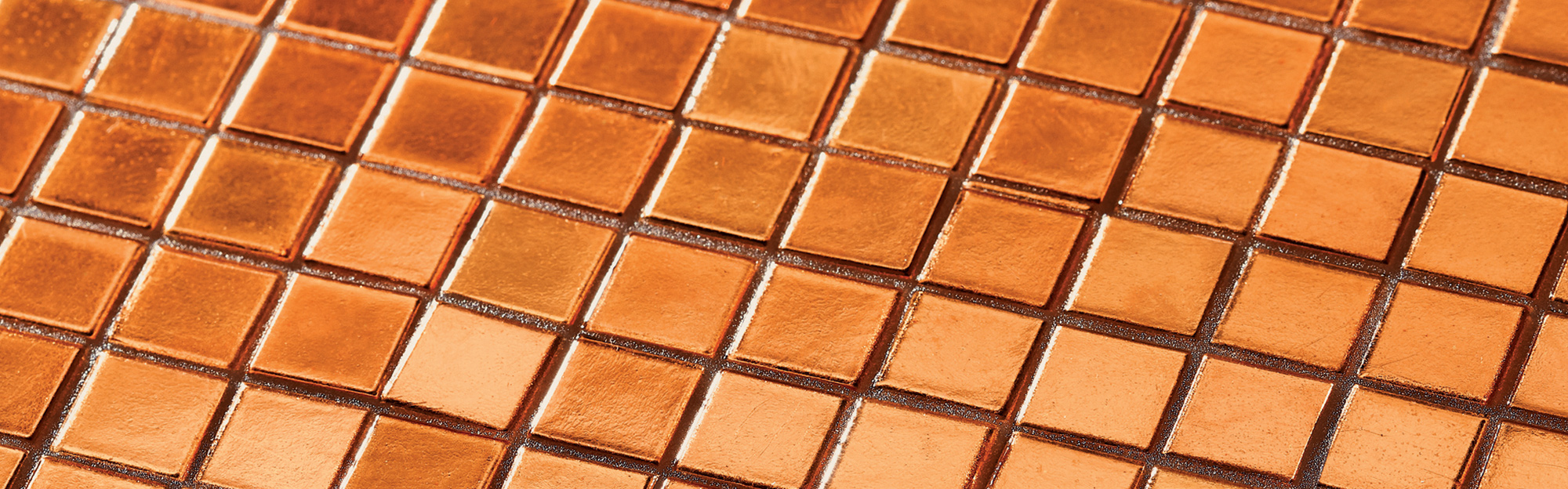 Bisazza Rose Gold Mosaic Tiles