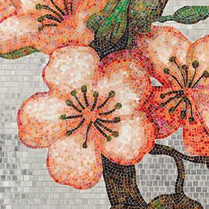 PEACHTREE Decoration Mosaic
