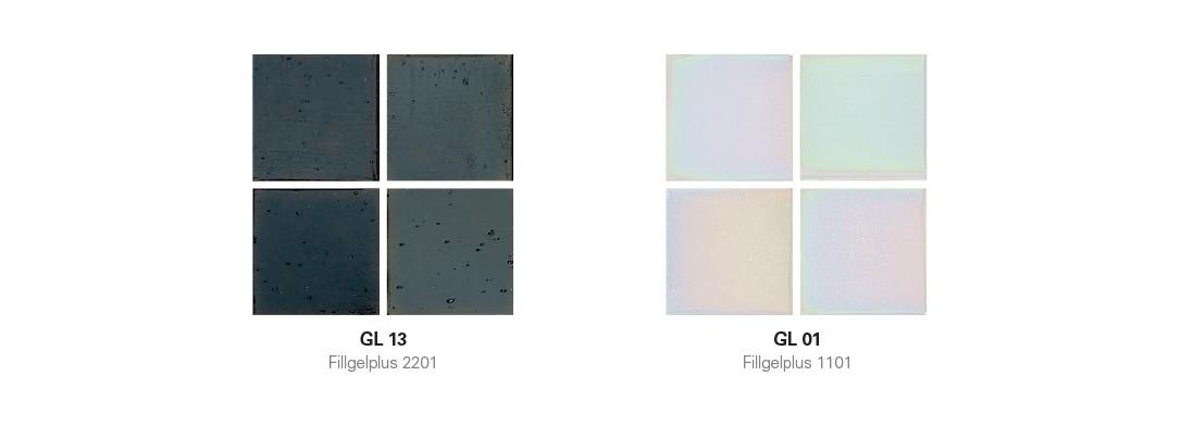 Gloss Mosaic with Hotmelt Tile Sheet