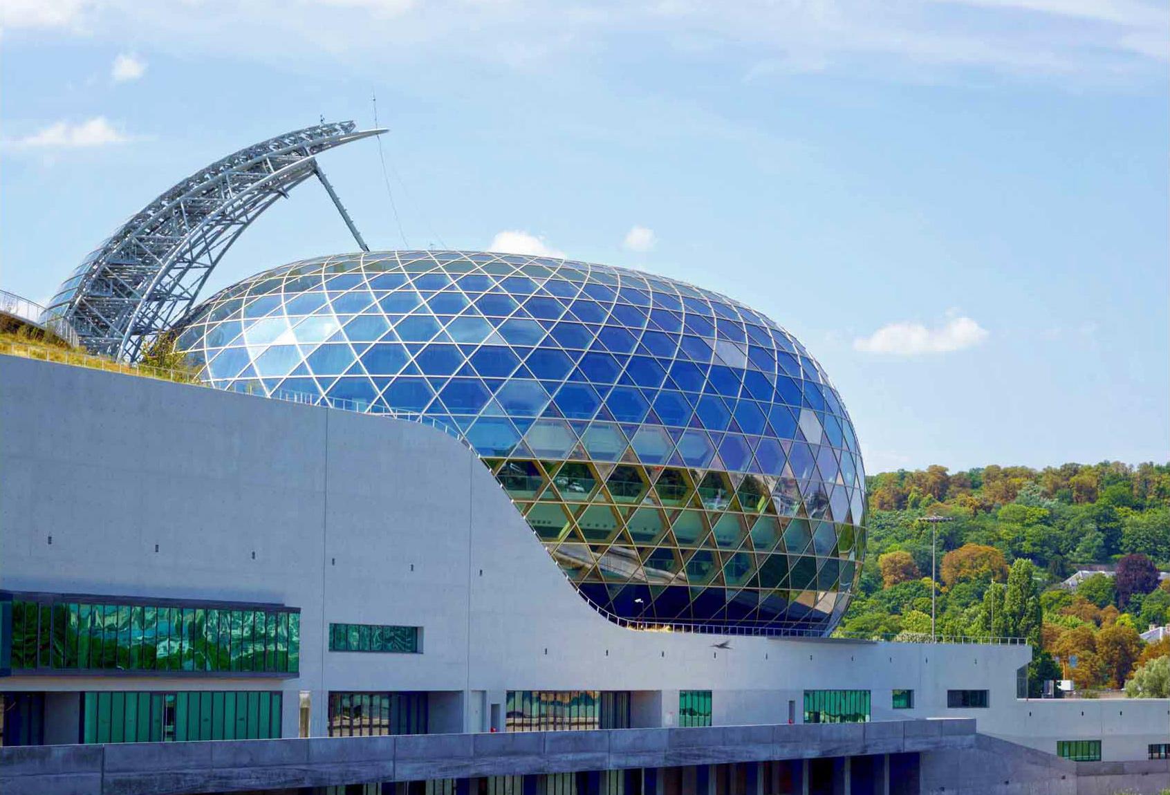 The Dome of La Seine Musicale