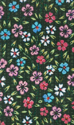Plaisir floral mosaic by Carlo Dal Bianco