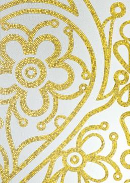 Luxe Mosaic Pattern Bolero