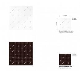 Luxe Mosaic Pattern Diagonale