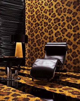 Urban Safari Mosaic Pattern Leopard