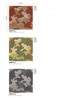 Urban Safari Mosaic Pattern Mimetico