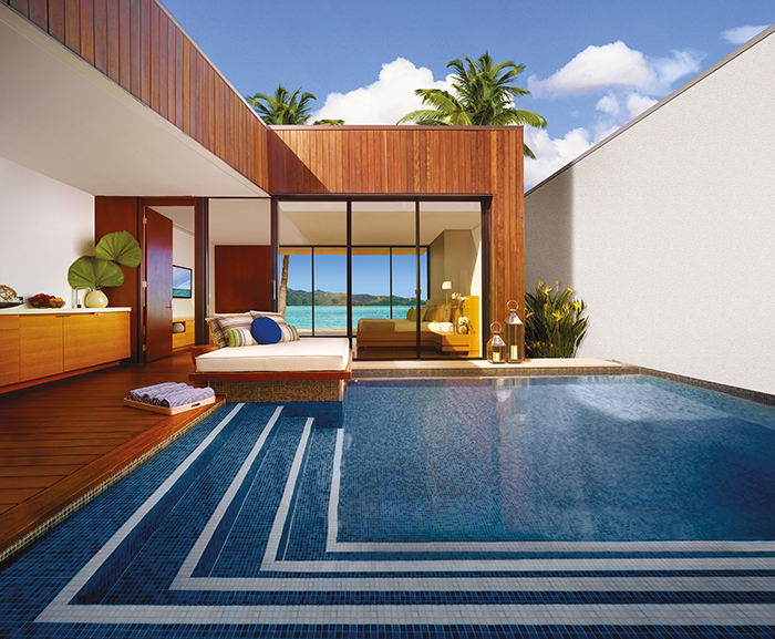 Hayman Island Accommodation Pool Mosaic