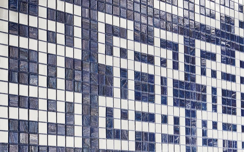 GRANADA Bianco Mosaic Design