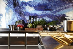 Mosaic design at the Andaz Prinsengracht hotel