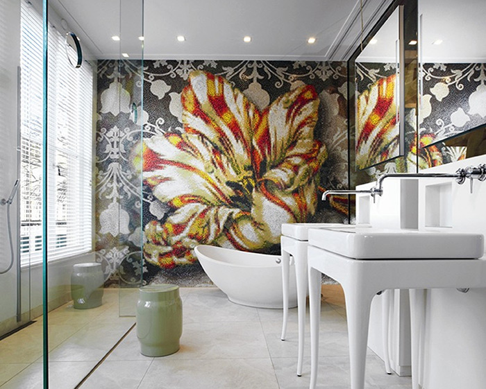 Bisazza Bathroom Mosaic