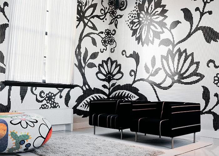 Bisazza Tree Interior Design Mosaic