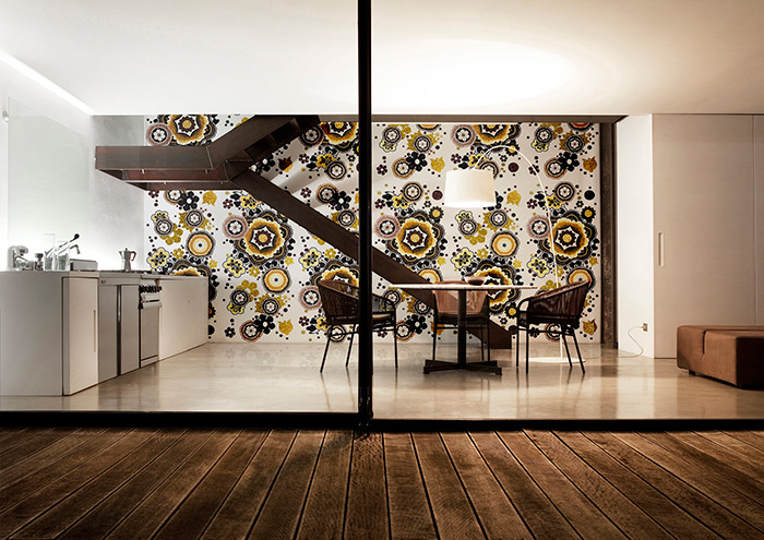 Bisazza Bloem Interior Design Mosaic