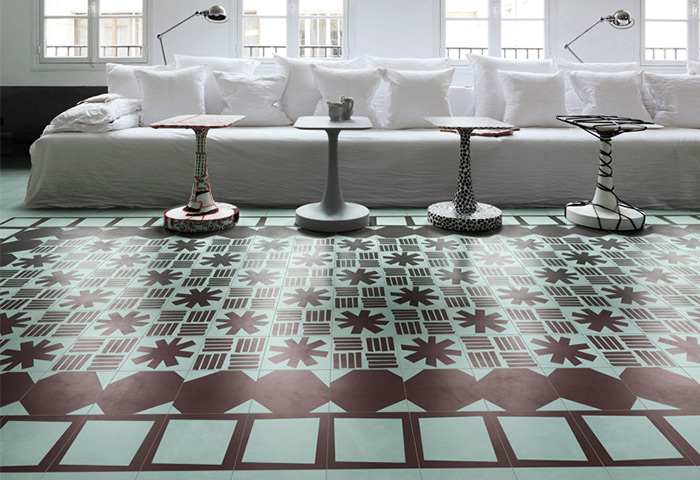 Bisazza Contemporary Cement Tiles Launching at Cersaie 2014