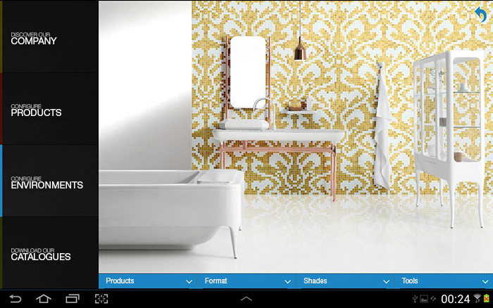 Bisazza App Environment Configuration