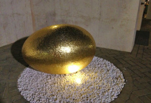 The Courtyard Golden Egg