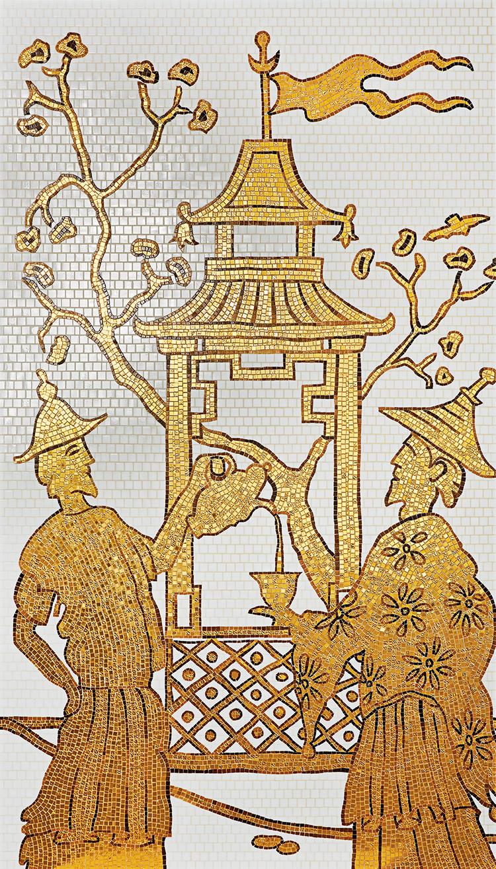 Bisazza CHINOISERIE Decoration Mosaic