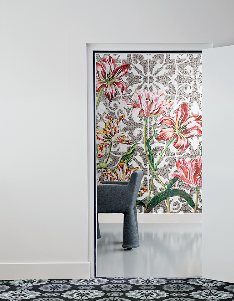 Bisazza TULIPS GREY by Marcel Wanders