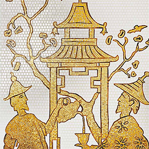 Chinoiserie Mosaic Tiles