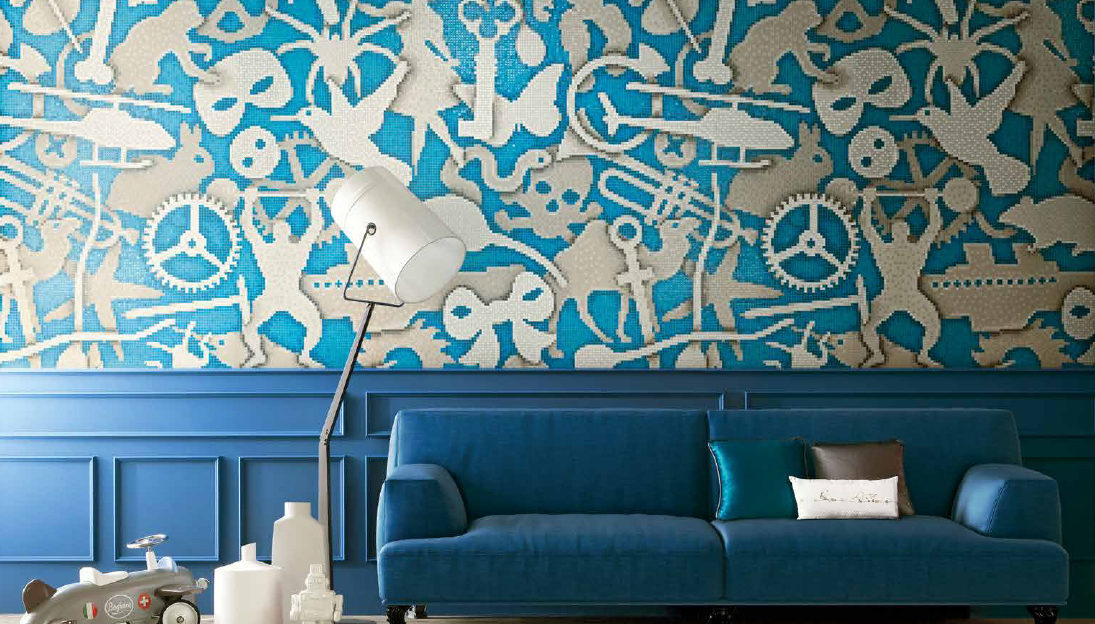 SILHOUETTE - a Bisazza mosaic design by Studio Job
