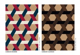 Bisazza WOOD Cannage Colours