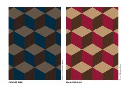 Bisazza WOOD Escalier Colours