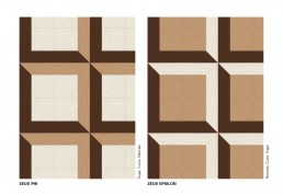 Bisazza WOOD Zeus Colours