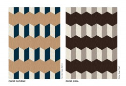Bisazza WOOD Zigzag Colours