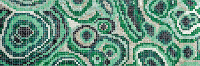 New Malachite Green Mosaic, designed by Greg Natale
