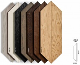 Bizazza WOOD Collection Colours and Shapes