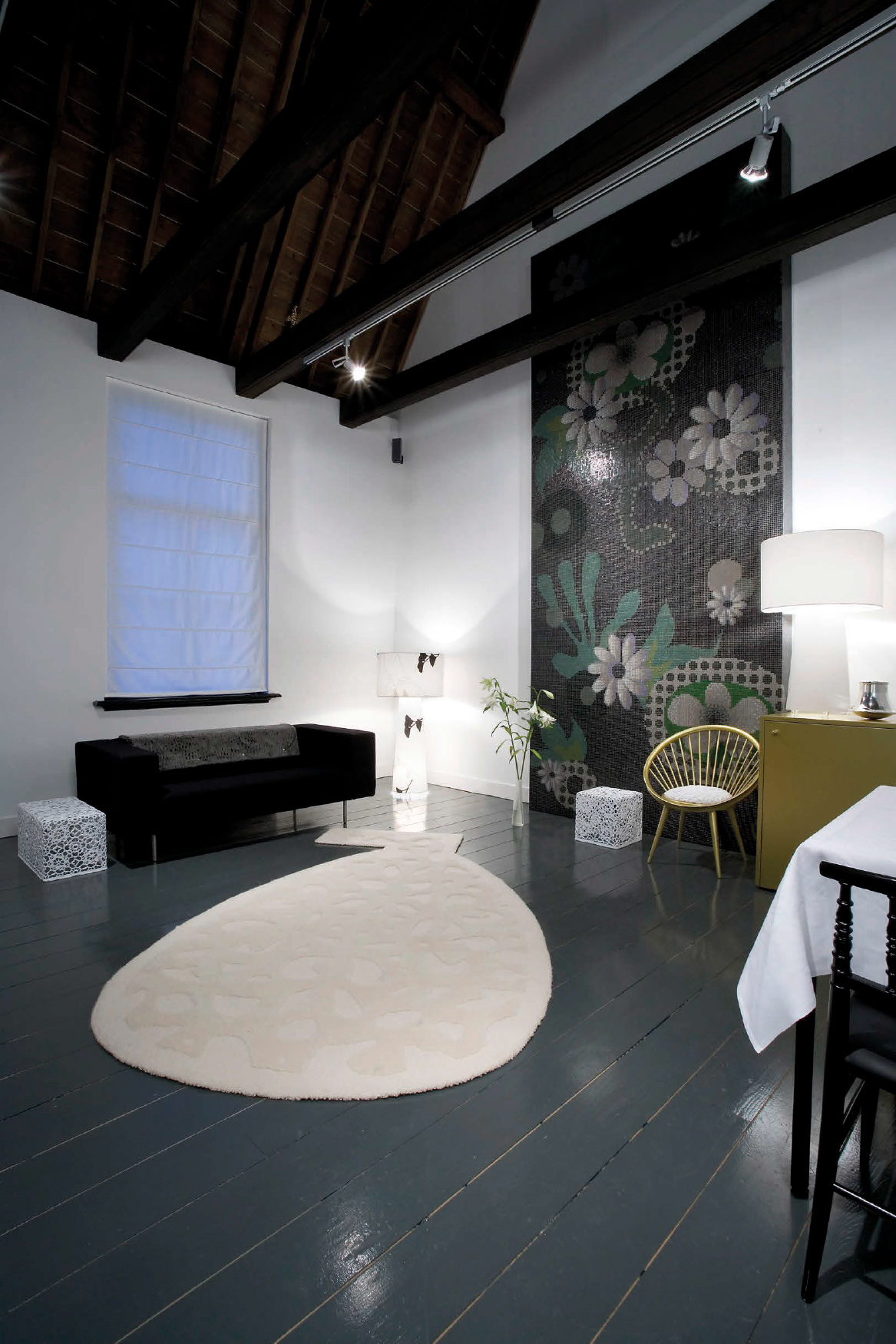 One of the Lute Suites, featuring Bisazza Moonlight Garden