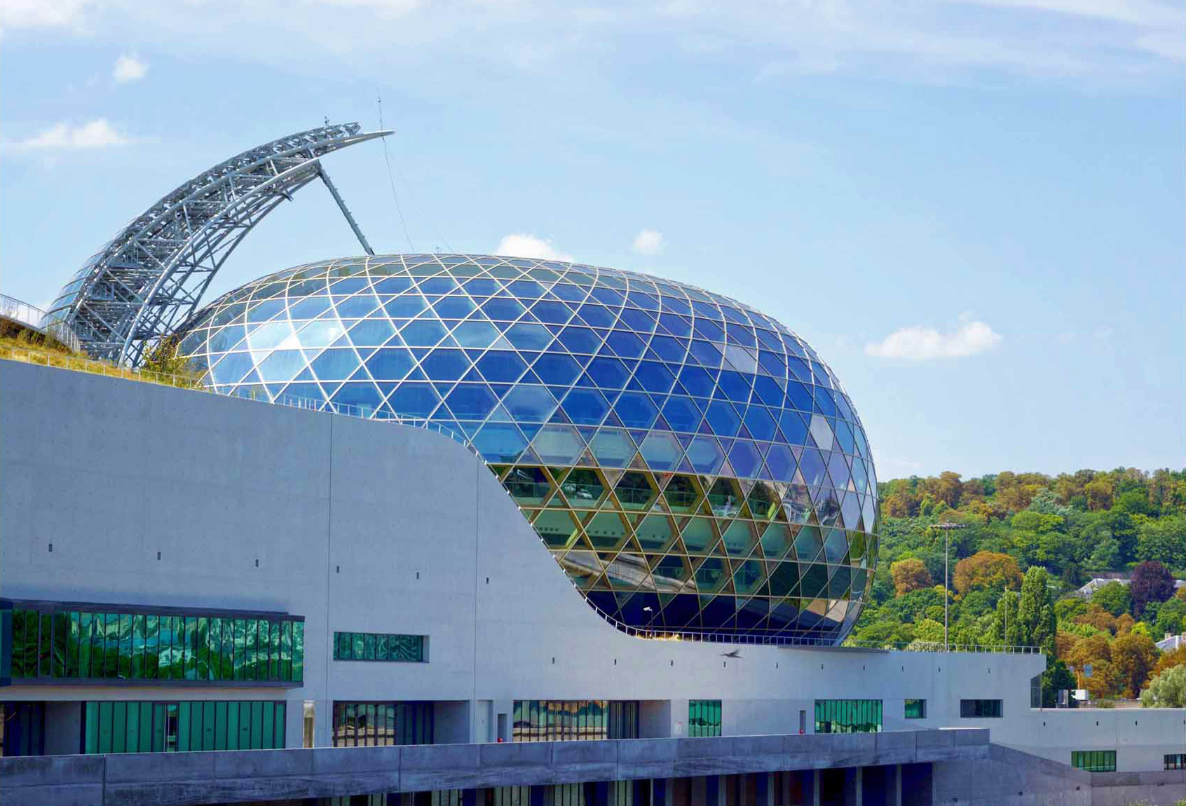 The Dome of La Seine Musicale