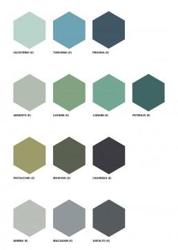 Cementiles Hexagonal