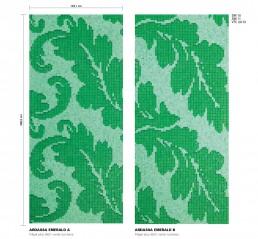 Floral Mosaic Pattern Ardassa
