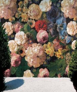 Floral Mosaic Pattern Bouquet