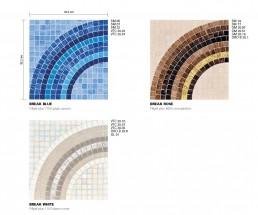 Modern Mosaic Pattern Break