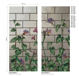 Floral Mosaic Pattern Calystegia