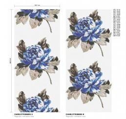 Floral Mosaic Pattern Charlottenberg