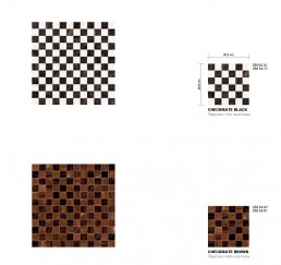 Timeless Mosaic Pattern Checkmate