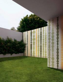 Modern Mosaic Pattern Columns