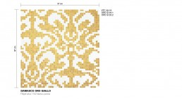 Timeless Mosaic Pattern Damasco
