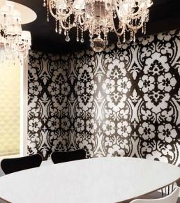 Floral Mosaic Pattern Decoupage