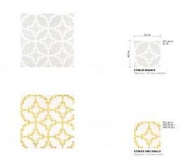 Timeless Mosaic Pattern Etoiles
