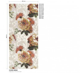 Floral Mosaic Pattern Fleurs