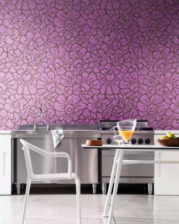 Floral Mosaic Pattern Graphic Flowers