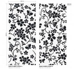 Floral Mosaic Pattern Hana Flower