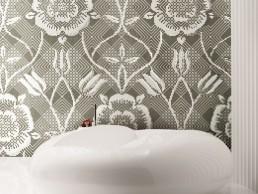 Insula Floral Mosaic Pattern