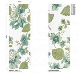 Floral Mosaic Pattern Marella