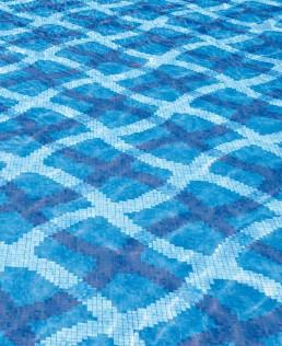 Modern Mosaic Pattern Mirage